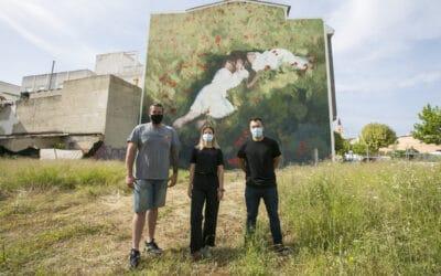 El Serpis Urban Art Project Gandia presenta el darrer mural