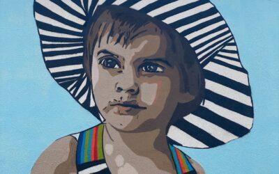 «La Filla del color» és el nou mural del #SerpisUrbanArtProject