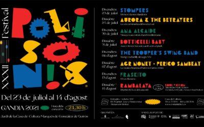 Canvi en els horaris dels concerts del FestivalPolisònic de Gandia